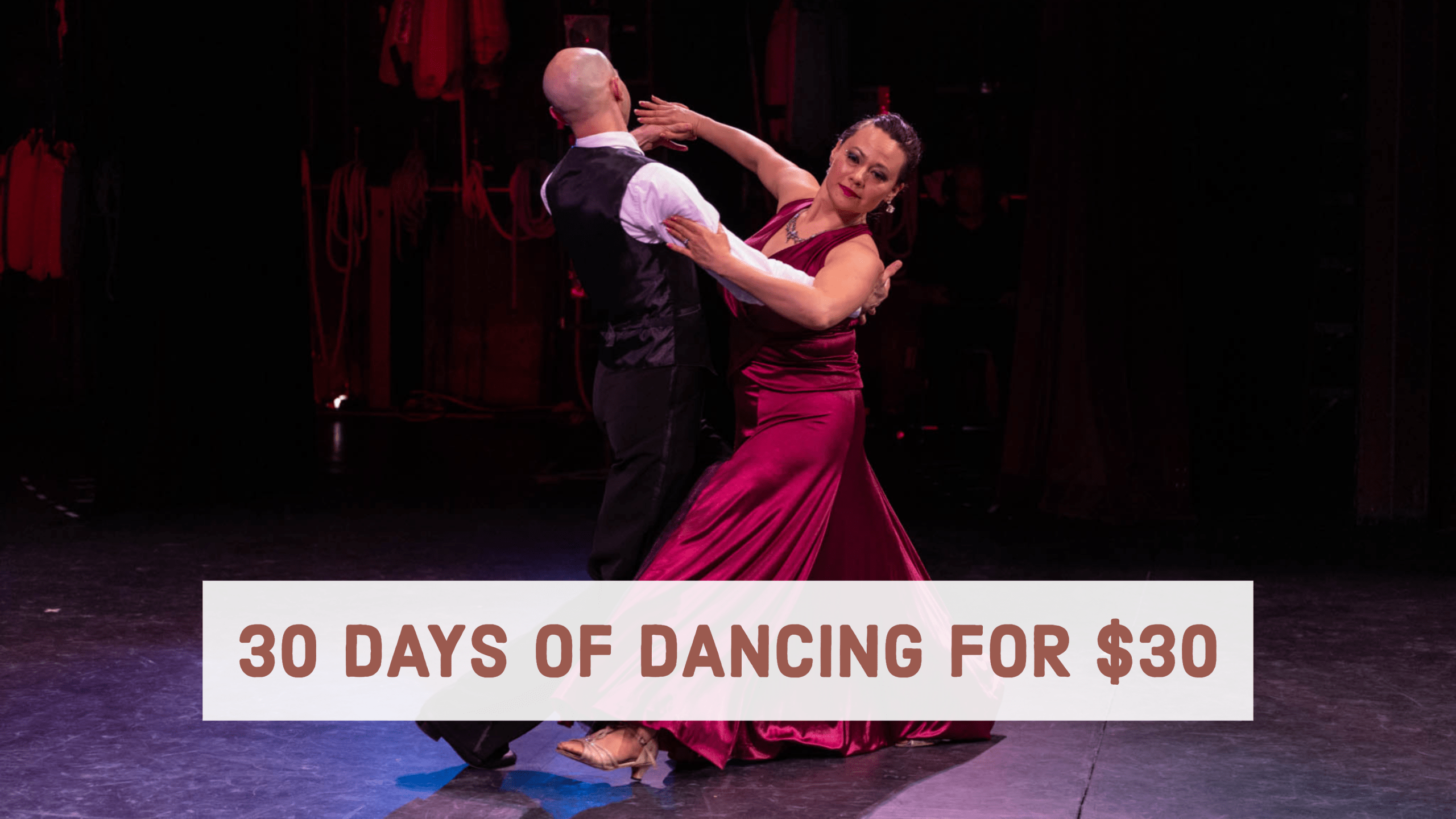 30 Days of Dancing For $30